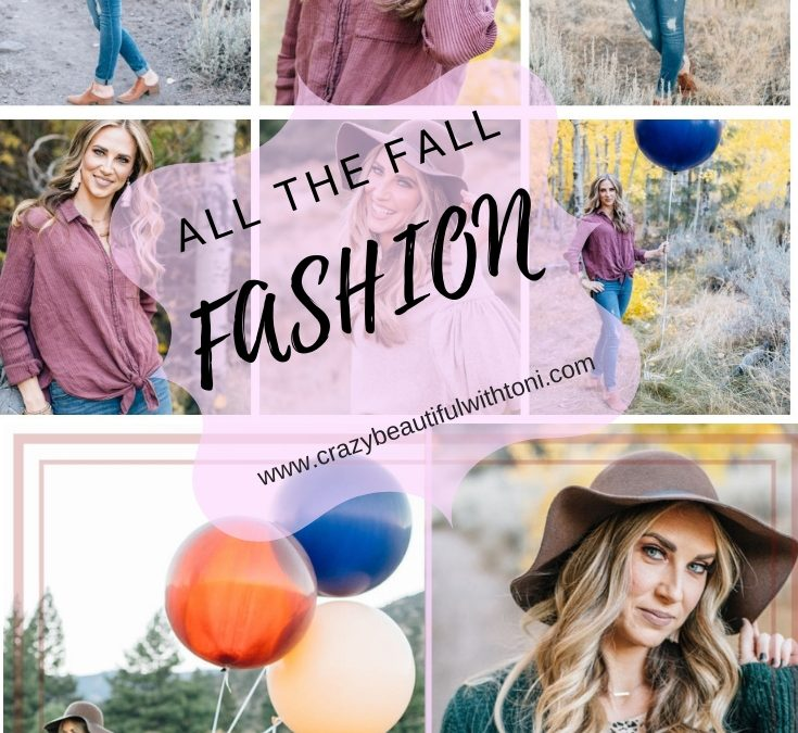 FALL in love with ease- Fall Fashion- made EASY!